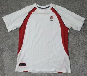 ENGLAND RUGBY VERY RARE OFFICIAL SHORT SLEEVE 'PRIDE OF ENGLAND' SIZE L LARGE