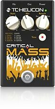 TC Helicon*Critical Mass*Vocal Effects Processor Gang Melodic Vocals+Reverb NEW