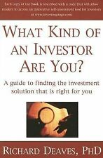 What Kind of an Investor Are You?: A guide to the investment solution-ExLibrary