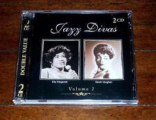 2 CDs: Ella Fitzgerald & Sarah Vaughan - Jazz Divas Volume 2 / Vol Canada Import