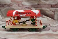 1986 VTG New Bright Santa's Xmas Express Train Set No 183 ELF PUMP CAR ONLY