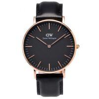 Daniel Wellington Unisex Classic Black Sheffield Watch DW00100139