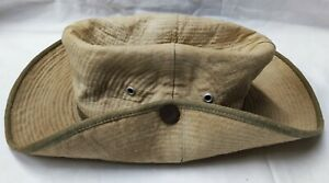 Chapeau de brousse Fab. locale Indochine