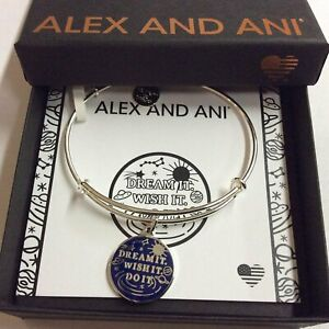 Alex and Ani Charity by Design, Dream It, Wish It, Do It Bangle Bracelet NWTBC