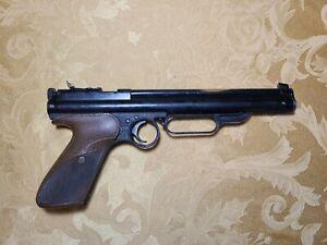 "Crosman ""22"" Model 106 Pump Pistol, resealed and working!"