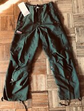 UFO Cargo Rave Hip Hop Dance Pants Womens Size XSmall Army Green Color