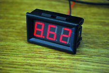 5PCS Red LED Digital Volt Meter DC 3.5V~30 V For 9V 12V 24V USA SELLER A177