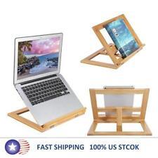 Book Stand Cookbook Holder Rack For Desk Reading Rest Textbook Display Tabletop