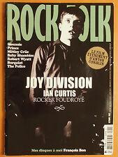 Rock & Folk 482 S du 10/2007-Siouxsie-Prince-Mötley Crüe-The Police-Robert Wyatt