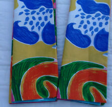 Rare Vintage Costa Paradiso Ralph Lauren-PAIR OF PILLOWCASES-STANDARD 100%Cotton