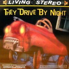 """RARE PRIVATE CD """"They Drive by Night"""" STEVE RUDE Artwork TODD BORENSTEIN SEALED"""