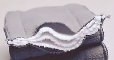 20x  5 Layers Bamboo Washable Reusable Charcoal Nappy Inserts For MCN 14*34cm