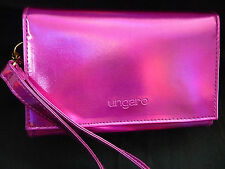 Borsa  donna piccola  pochette in stoffa fuxia  UNGARO