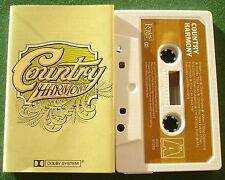 Country Harmony Johnny Cash Merle Haggard Tanya Tucker + Cassette Tape - TESTED