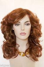 Red Long Medium Wavy Wigs