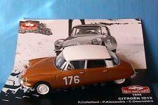 CITROEN ID 19 #176 MONTE CARLO 1959 COLTELLONI ALEXANDRE DESROSIERS IXO 1/43