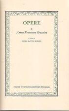 OPERE DI ANTON FRANCESCO GRAZZINI a cura di Bonino - classici della UTET 1977