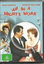 DVD All in a Night's Work Dean Martin Shirley MacLaine Comedy Region 4 BNS