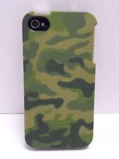 Incipio EDGE Slider Hard Case iPhone 4 iPhone 4S Green Camo Matte Touch Finish