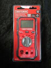 Craftsman Cmmt14171 Automotive Digital 600 Volt Multimeter