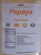 Papaya 5 Lb Fruit Powder by PURO SKIN HAIR HEALTH FRESH BRAZIL Non GMO