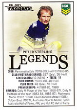 NRL 2015 RUGBY LEAGUE Traders - Peter Sterling / Legends Case Card CC2