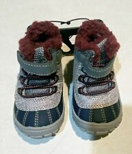 Wonder Nation - Toddlers Boys - Fur Lined Duck Boots - Size 9 - NWT