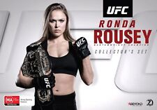 UFC RONDA ROUSEY Collectors Box Set (Region 4) DVD 157 170 184 Collection
