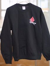 Ektelon Racquetball Sweater 50% Cotton, Polyester. Mens Size Medium. Black