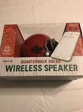 Wembley Quarterback Sneak Red Helmet Bluetooth Wireless Speaker NWB $65
