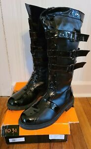 Ellie Shoes Dark Lord Adult Boots, Large (12/13) Black. 125 DARTH  BLACK