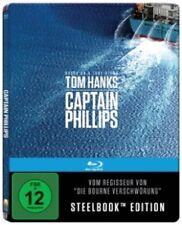 Captain Phillips Steelbook Blu-ray NEU OVP Tom Hanks