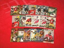 AARON BROOKS SAINTS PACKERS VIRGINIA RC ROOKIE LOT OF 19 CARDS (18-13)