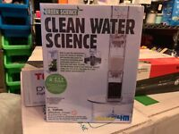 Green Science Clean Water Science Kit BRAND NEW
