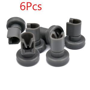 6Pcs Upper Wheels For Aeg Favorit, Privileg, Zanussi Dishwasher Spare Parts