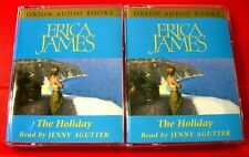 Erica James The Holiday 4-Tape Audio Book Jenny Agutter Romance/Women's