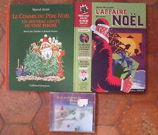 lot Noël l'affaire Noël gérard Moncomble le commis du Père Noël Marcel Aymé+ CD