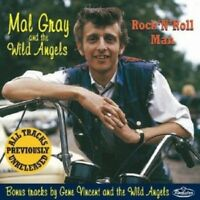 MAL GRAY & THE WILD ANGELS Rock 'n' Roll Man CD - NEW - Gene Vincent rockabilly