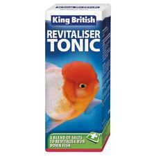 King British Revitaliser Tonic Coldwater Aquarium Fish Tank Disease Treatment
