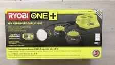 Ryobi P785 ONE+ 18V (18/110 Volt) HYBRID LED Cable Light, 1,500-Lumens Bare Tool
