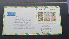 Brasilien Block 49 (kompl.Ausg.) gestempelt 1982 auf Luftpostbrief