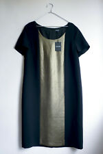 Jaeger black and gold Dress Size 14