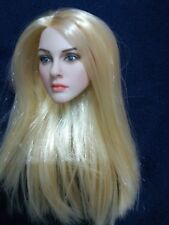 1/6 Scale Kate Middleton Female Head Carving W Blonde Hair Fit 12'' Figure