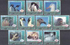 Ross Dependency 1994 Nature/Wildlife/Penguins/Seals/Birds/Animals 10v set (s451)