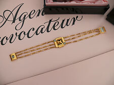 AGENT PROVOCATEUR CLEOPATRA  BRACELET GOLD ONE-SIZE BRAND NEW IN BOX