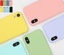 Handyhülle für iPhone 11 ProMax X/XR XSmax 7 8 + Soft Silikon Back Cover Schutz