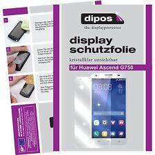 1x dipos Huawei Ascend G750 Film de protection d'écran protecteur cristal clair