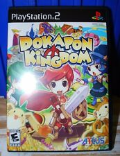 Dokapon Kingdom PS2 (Sony PlayStation 2, 2008) Mint. Never Played. Complete.