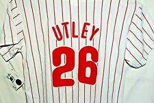MLB Majestic Chase Utley Philadelphia Phillies #26 Baseball Jersey Youth Large