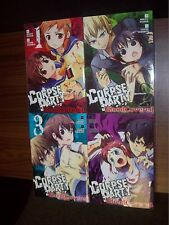 Corpse Party Blood Covered Volumes 1, 2, 3, 4 1-4 Manga English New
